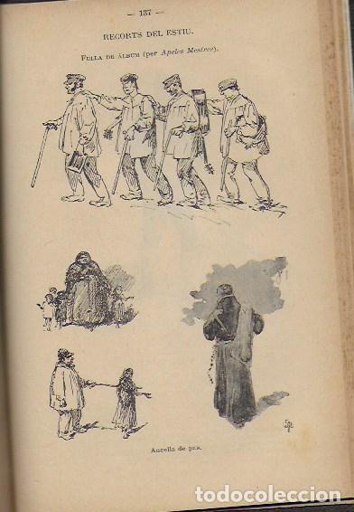 Coleccionismo Calendarios: 2 Almanach de l' Esquella de La Torratxa 1891 i 1892. 20x14cm. 190 + 192 p. - Foto 15 - 95374371