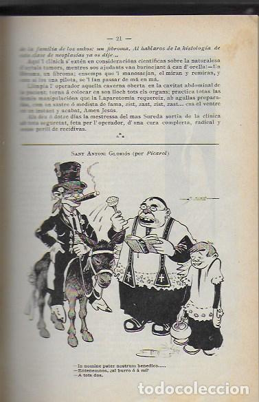 Coleccionismo Calendarios: Almanach de l' Esquella de la Torratxa 1908. 21x14cm. 208 p. - Foto 4 - 95375103