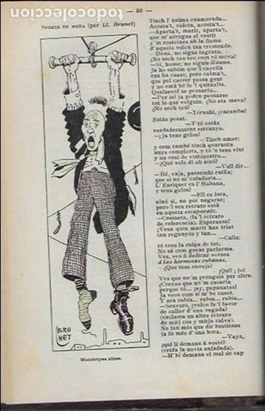 Coleccionismo Calendarios: Almanach de l' Esquella de la Torratxa 1908. 21x14cm. 208 p. - Foto 6 - 95375103