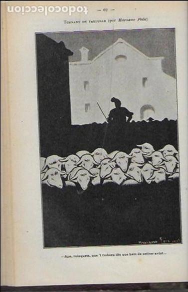 Coleccionismo Calendarios: Almanach de l' Esquella de la Torratxa 1908. 21x14cm. 208 p. - Foto 7 - 95375103