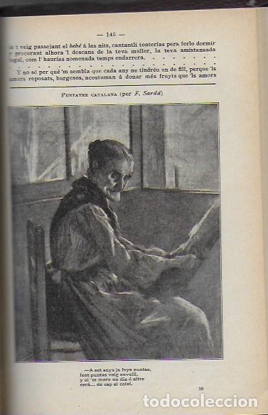 Coleccionismo Calendarios: Almanach de l' Esquella de la Torratxa 1908. 21x14cm. 208 p. - Foto 10 - 95375103