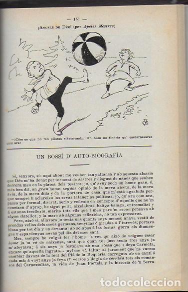Coleccionismo Calendarios: Almanach de l' Esquella de la Torratxa 1908. 21x14cm. 208 p. - Foto 11 - 95375103