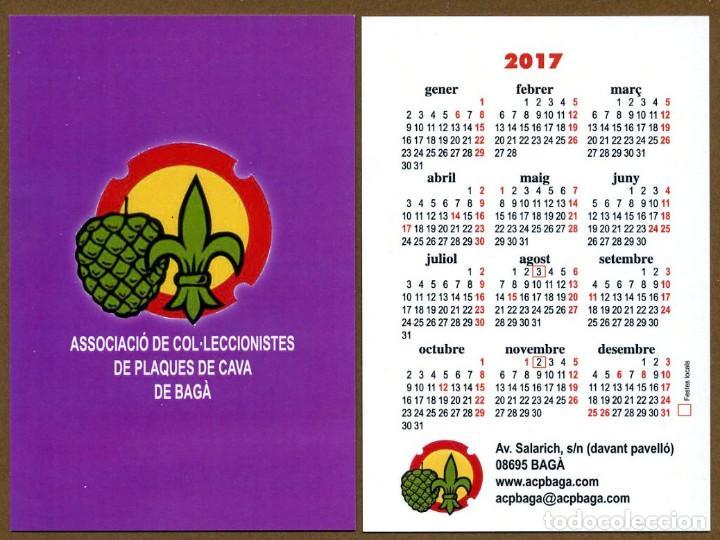 3 CALENDARIOS BOLSILLO - BAGA 2017 (Coleccionismo - Calendarios)