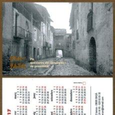 Coleccionismo Calendarios: CALENDARIOS BOLSILLO - BAGA 2017 FIA FAIA. Lote 127673700