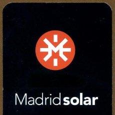 Coleccionismo Calendarios: CALENDARIOS BOLSILLO - MADRID SOLAR 2005. Lote 95462975