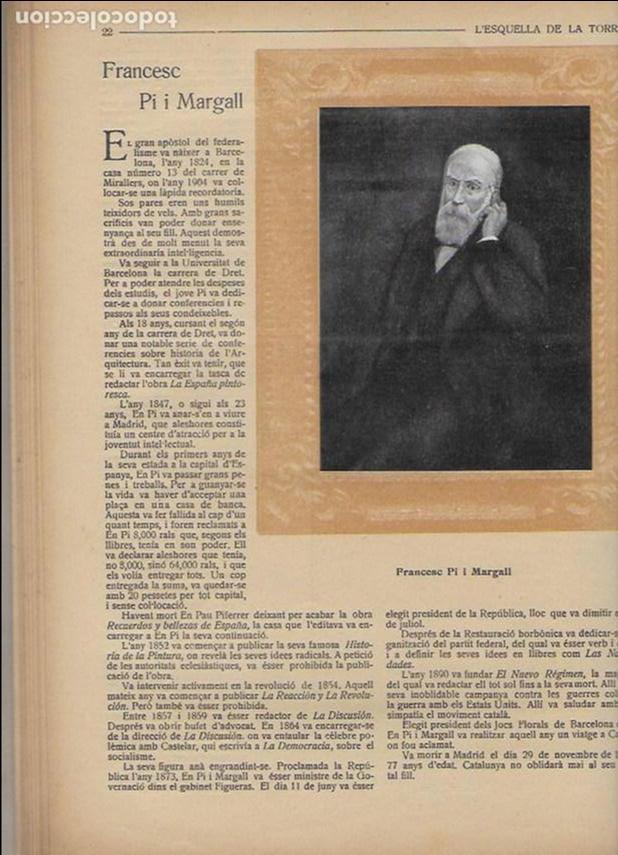 Coleccionismo Calendarios: Almanac de l' Esquella de la Torratxa per a 1917. 30x23 cm. 80 p. - Foto 4 - 95835019