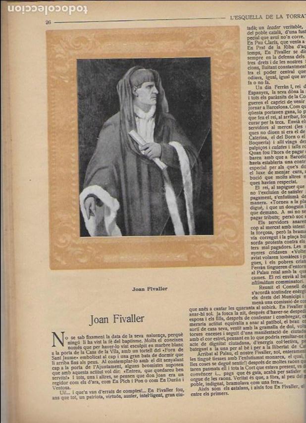 Coleccionismo Calendarios: Almanac de l' Esquella de la Torratxa per a 1917. 30x23 cm. 80 p. - Foto 6 - 95835019
