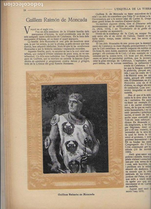 Coleccionismo Calendarios: Almanac de l' Esquella de la Torratxa per a 1917. 30x23 cm. 80 p. - Foto 8 - 95835019
