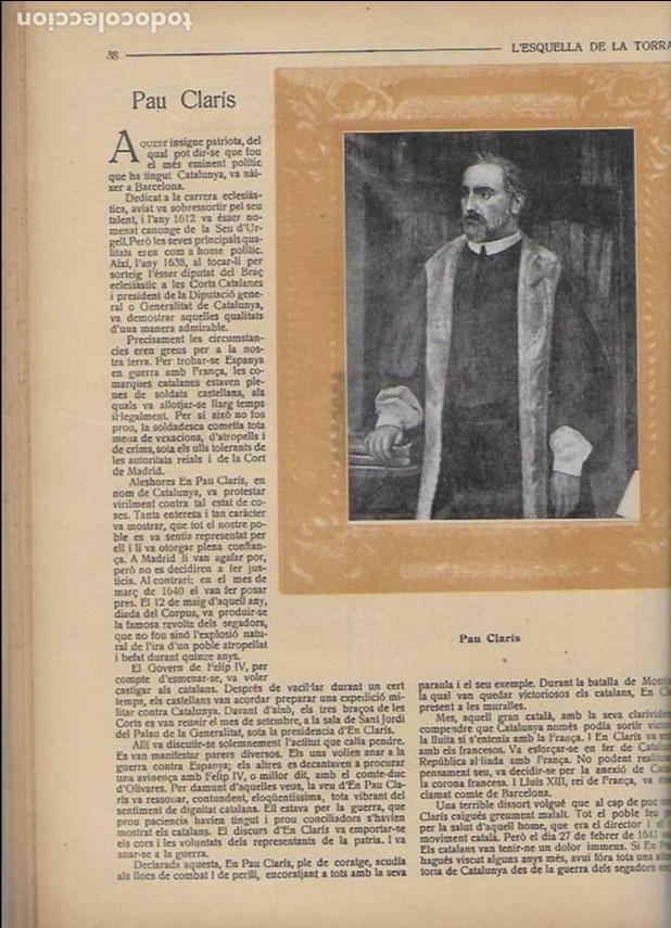 Coleccionismo Calendarios: Almanac de l' Esquella de la Torratxa per a 1917. 30x23 cm. 80 p. - Foto 9 - 95835019