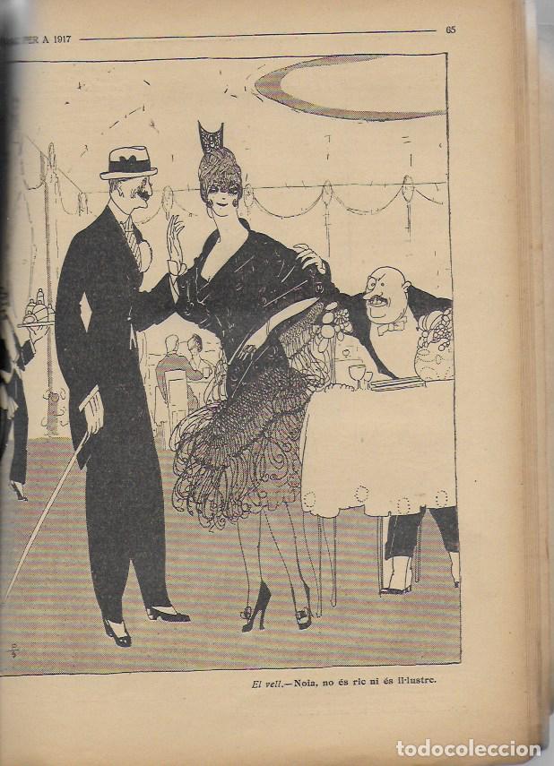 Coleccionismo Calendarios: Almanac de l' Esquella de la Torratxa per a 1917. 30x23 cm. 80 p. - Foto 11 - 95835019