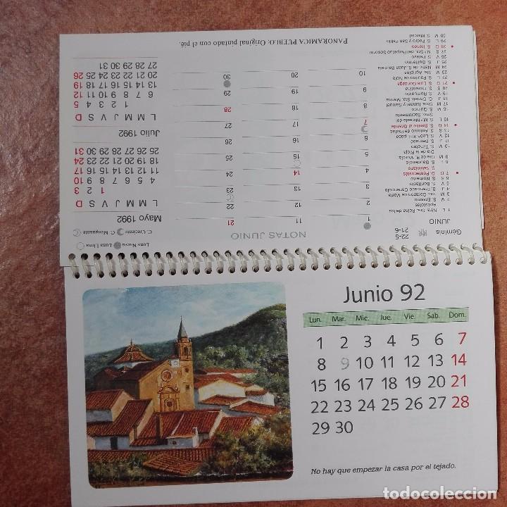 Coleccionismo Calendarios: Calendario artístico 1992 pintores con la boca y el pie 500 aniversario del descubrimiento de Améric - Foto 3 - 95863847