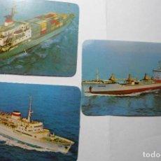 Coleccionismo Calendarios: LOTE CALENDARIOS EXTRANJEROS 1990. Lote 95975211