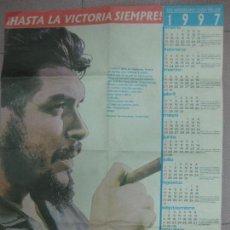 Coleccionismo Calendarios: CARTEL CALENDARIO XXX ANIVERSARIO, CAIDA DEL CHE. 1997. EDITORA POLITICA. 47 X 59 CM.. Lote 96227815