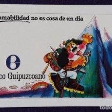Coleccionismo Calendarios: CALENDARIO FOURNIER. BANCO GUIPUZCOANO.1978. Lote 96441387