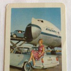 Coleccionismo Calendarios: CALENDARIO FOURNIER. AVIACO. 1966. Lote 96789407