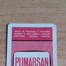 Coleccionismo Calendarios: CALENDARIO FOURNIER PUMARSAN AÑO 1975 (VER FOTO ADICIONAL). Lote 96848683