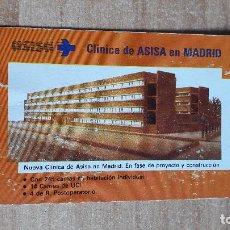 Coleccionismo Calendarios: CALENDARIO FOURNIER ASISA AÑO 1992 (VER FOTO ADICIONAL). Lote 96849955