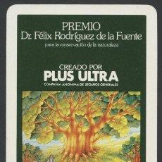 Coleccionismo Calendarios: CALENDARIO DE BOLSILLO, SEGUROS PLUS ULTRA, H. FOURNIER 1982. Lote 96874347