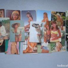 Coleccionismo Calendarios: LOTE 17 CALENDARIOS CHICAS. EROTICOS.. Lote 96950663