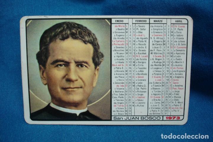 Calendario Boschi.Calendario San Juan Bosco 1973 Ediciones Don Bosco Pamplona 1972