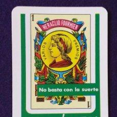 Coleccionismo Calendarios: CALENDARIO FOURNIER. ASOCIACION PARA LA PREVENCION DE ACCIDENTES. PROTEGETE. 1977. Lote 97227487