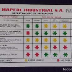 Coleccionismo Calendarios: CALENDARIO FOURNIER. MAPFRE INDUSTRIAL. NIÑOS. 1977. Lote 97227751