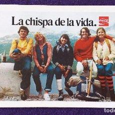 Coleccionismo Calendarios: CALENDARIO FOURNIER. COCA- COLA. 1977. Lote 97227867