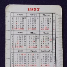 Coleccionismo Calendarios: CALENDARIO FOURNIER. PARDO. 1977. 1978. Lote 97229103