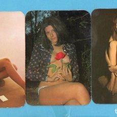 Coleccionismo Calendarios: TRES CALENDARIOS DE BELLAS SEÑORITAS DE LOS AÑOS 1970 1977 VER FOTOS. Lote 97351031