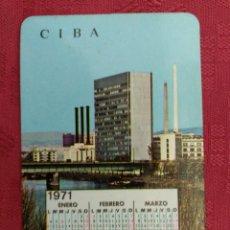 Coleccionismo Calendarios: CALENDARIO CIBALGINA 1970. Lote 97366307
