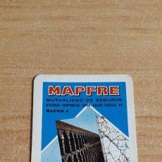 Coleccionismo Calendarios: CALENDARIO FOURNIER MAPFRE AÑO 1967 (VER FOTO ADICIONAL). Lote 97406427