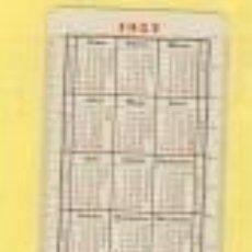 Coleccionismo Calendarios: CALENDARIO H. FOURNIER AÑO 1957 RELIGIOSO CORAZON DE MARIA DE LAS LAGRIMAS CR 57. Lote 97687087