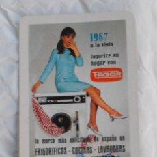 Coleccionismo Calendarios: CALENDARIO DE BOLSILLO FOURNIER AÑO 1967 - FAGOR (ELECTRODOMESTICOS). Lote 97738675