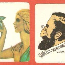 Coleccionismo Calendarios: 2 CALENDARIOS DE BOLSILLO AÑO 1995 DIBUJOS - VER FOTO REVERSOS. Lote 97773811