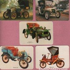 Coleccionismo Calendarios: LOTE DE 5 CALENDARIOS TEMA COCHES DE ÉPOCA DISTINTOS . Lote 98154527
