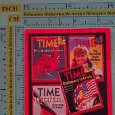 Coleccionismo Calendarios: CALENDARIO DE BOLSILLO. AÑO 1981. PERIÓDICO REVISTA TIME. ESTADOS UNIDOS. Lote 98513187