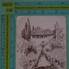 Coleccionismo Calendarios: CALENDARIO DE BOLSILLO. AÑO 1985. GRANADA ALHAMBRA GENERALIFE. EL REFUGIO. IMPALA PRADOLLANO. . Lote 98513327