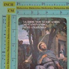 Coleccionismo Calendarios: CALENDARIO DE BOLSILLO RELIGIOSO. AÑO 1986. FEDERACIÓN AGUSTINIANA ESPAÑOLA. SAN AGUSTIN. Lote 98513455