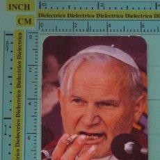 Coleccionismo Calendarios: CALENDARIO DE BOLSILLO RELIGIOSO. AÑO 1988. JUAN PABLO II. HUMOR EL JUEVES. Lote 98513519
