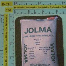 Coleccionismo Calendarios: CALENDARIO DE BOLSILLO. AÑO 1986 1987. SEMILLAS JOLMA DE OSUNA, SEVILLA. Lote 98513607