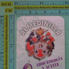 Coleccionismo Calendarios: CALENDARIO DE BOLSILLO. AÑO 1998. ACEITE DE OLIVA VIRGEN EXTRA, ALMEDINILLA, CÓRDOBA. Lote 98513659