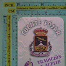 Coleccionismo Calendarios: CALENDARIO DE BOLSILLO. AÑO 1998. ACEITE DE OLIVA VIRGEN EXTRA, FUENTE TÓJAR, CÓRDOBA. Lote 98513703