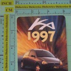 Coleccionismo Calendarios: CALENDARIO DE BOLSILLO. AÑO 1997. FORD KA. Lote 98513859