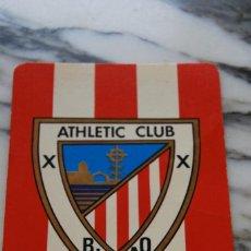 Coleccionismo Calendarios: CALENDARIO ESCUDO ATHLETIC CLUB BILBAO - 1975. Lote 98584315