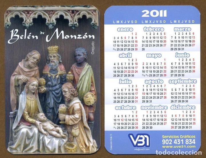 CALENDARIOS BOLSILLO - BELEN MONZON 2011 (Coleccionismo - Calendarios)