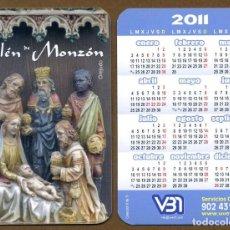 Coleccionismo Calendarios: CALENDARIOS BOLSILLO - BELEN MONZON 2011. Lote 147213224