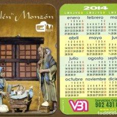 Coleccionismo Calendarios: CALENDARIOS BOLSILLO - BELEN MONZON 2014. Lote 147213066