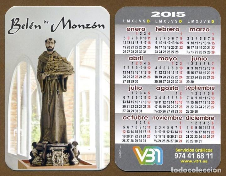 CALENDARIOS BOLSILLO - BELEN MONZON 2015 (Coleccionismo - Calendarios)