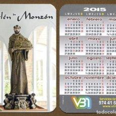 Coleccionismo Calendarios: CALENDARIOS BOLSILLO - BELEN MONZON 2015. Lote 147213142