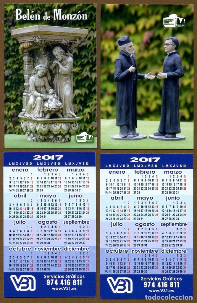 2 CALENDARIOS BOLSILLO - BELEN MONZON 2017 (Coleccionismo - Calendarios)